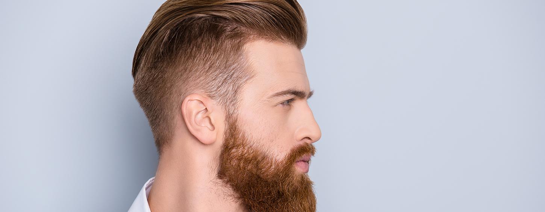 Uomo capelli rossi carattere