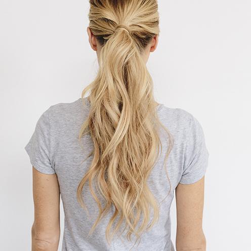 coda alta capelli