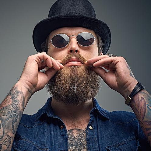 Gioielli per barba