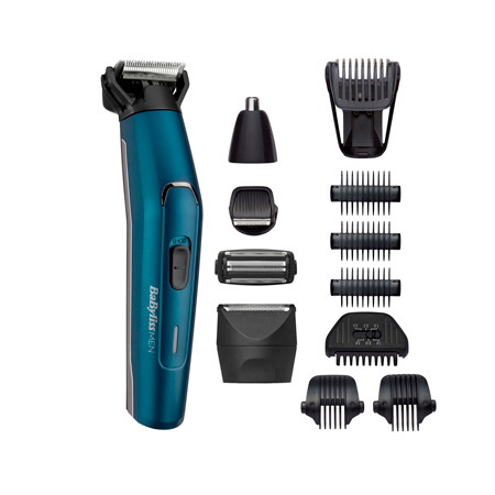 Multi Trimmer 12 in 1 Japanese Steel Waterproof Batteria al Litio - BaByliss