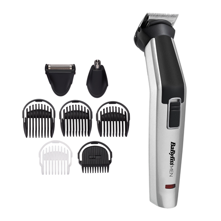 Multi Trimmer 8 in 1 Titanium - BaByliss