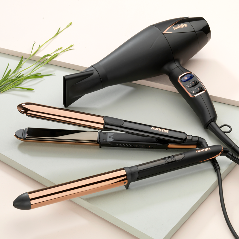 BaByliss Asciugacapelli Digitale Salon Air Brilliance 2200W
