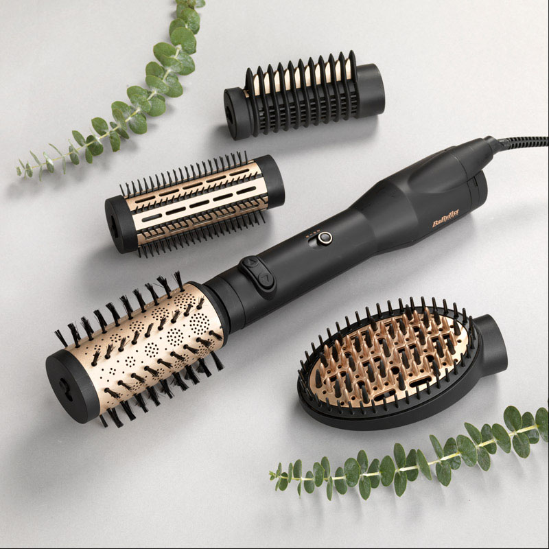 BaByliss Spazzola rotante Big Hair Luxe 4 Accessori Ceramic